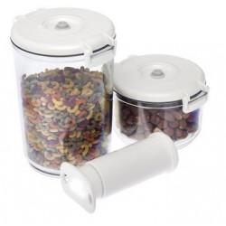 Pack de 2 boîtes rondes STATUS sans BPA