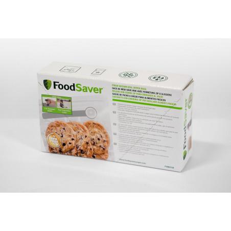 Boite 26 Sacs de 950ml avec Fermeture Zip à Glissière FoodSaver