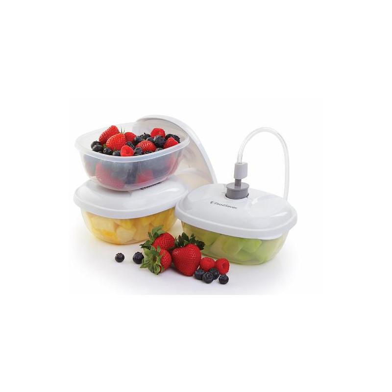 Pack de 3 Boîtes sous vide FoodSaver T020-00024