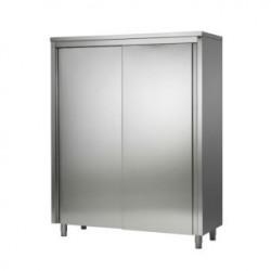 Armoire haute inox portes coulissantes 1000x600x2000