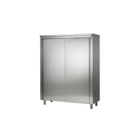 Armoire haute inox portes coulissantes 2000x600x2000