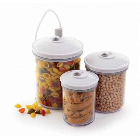 Pack de3 Boîtes rondes FoodSaver FSC003-I