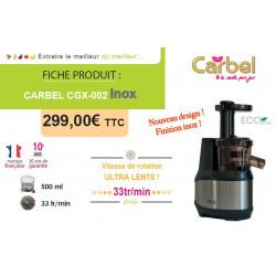 Extracteur de jus CGX-002 Inox