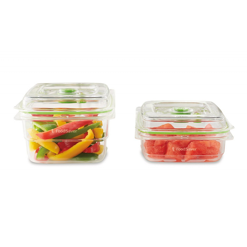 Pack de 2 Boites sous vide FoodSaver