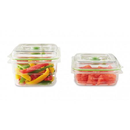 Pack de 2 Boîtes sous vide FoodSaver