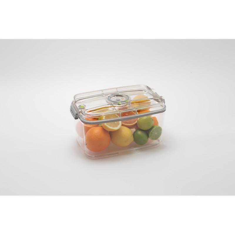 Boite sous vide rectangulaire 4,5 L STATUS sans BPA 100% TRITAN