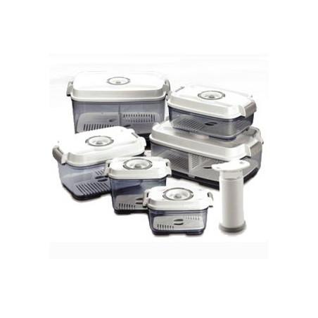 Pack de 6 boîtes plus une pompe manuelle STATUS sans BPA