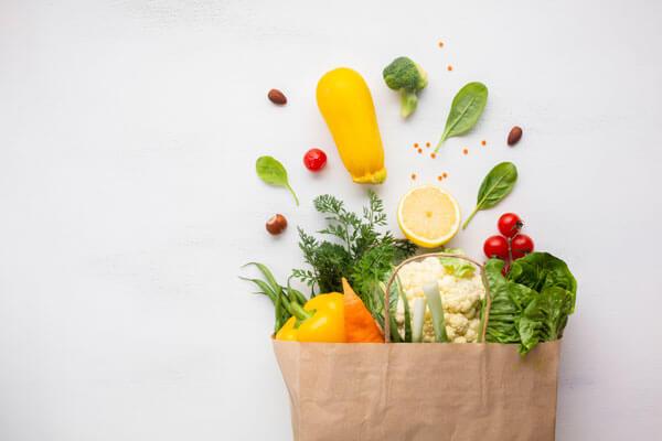 préparation des légumes pour la conservation sous vide
